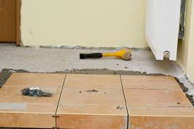 how to tile a concrete floor howtospecialist how to build