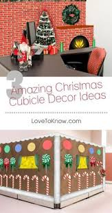 Christmas Cubicle Decorating Contest Flyer by Snowman Crime Scene For Cubicle Decorating Contest Complete With