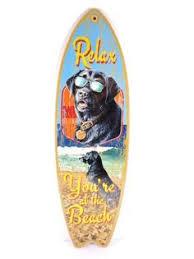 Decorative Surfboard With Shark Bite by Shark Attack Shark Bite Frenzy Beach Surfboard Decorative Beach
