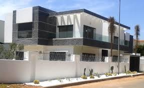 villa à casablanca moderne façade autres péètres par