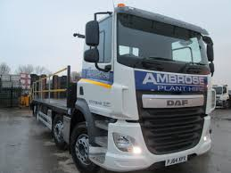 New DAF 32 Ton Truck 007 | Ambrose Plant Hire