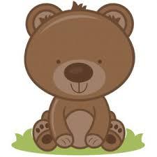 Cute Fall Bear Clipart