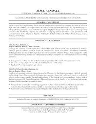 Sample Banking Resumes Commercial Resume
