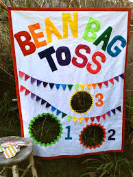 Bean Bag Toss Party Game With Bags