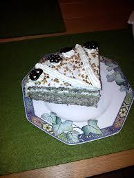 pias und jogis winterliche eierlikör mohn apfel marzipan torte