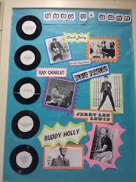 Rock N Roll Bulletin Board