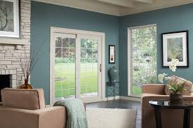 Therma Tru Patio Doors With Blinds by Front Doors Entry Doors Patio Doors Garage Doors Storm Doors