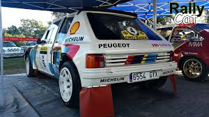 Peugeot 205 T16 Evo 1 Group B Pure Sound Start Accelerations