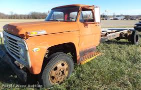 100 1969 Ford Truck For Sale 600 Truck Cab And Chassis Item DB9868 SOLD De