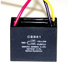 Cbb61 Ceiling Fan Capacitor 5 Wire by Cbb61 1 5uf 2 5uf Capacitor Combination 3 Wire