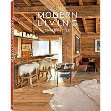 modern living chalet style