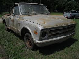 TBAR TRUCKS : 1968 Chevrolet BARN FIND !!! 1968 CHEVY C10 STEPSIDE ...