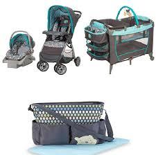 Safety 1st Disney Pooh Walker by Disney Winnie The Pooh Geo Pooh Baby Gear Bundle Stroller Travel