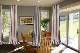 Creating Stylish Triangle Window Valances Dining Room Windows With
