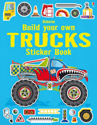 100 Build Your Own Truck S Sticker Book ISpark Toys