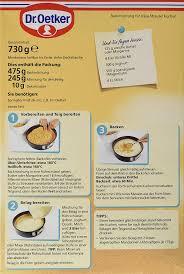 dr oetker käse streusel kuchen 730 g de