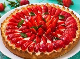 rezept ohne backen cremiger erdbeer pudding kuchen
