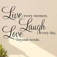Live Laugh Love Wall Stickers Quotes Parkins Interiors Art Sticker Quote Decor Decal Words