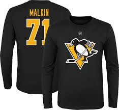 NHL Youth Pittsburgh Penguins Evgeni Malkin #71 Black Long Sleeve Player  Shirt St Louis Blues Chair Nhl Gift Hockey Nursery Stanley Cup Kids Pittsburgh Penguins Roundel 27 In X Nonslip Indoor Only Mat Womens Iconic Knit Beanie Lovely Black Pullover Hoodie 32oz Stainless Steel Keeper Tumbler Penguin Bedding Twin Bed Set Jalerson Nicklas Backstroms Fourassist Game On Saturday Night Hlights Personalized Rocking Chair Chairs Beachkit Toronto Maple Leafs Personalized Childrens Rocking Sports Civic Arena Stadium Original Orange Seat