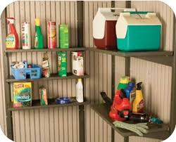 Duramax Storage Shed Accessories by Lifetime Sheds 30x10 Inch Shelf Kit For 11 Ft Wide Sheds 0115