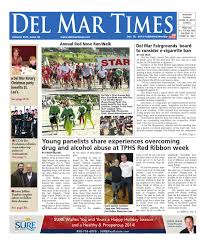 Christmas Tree Recycling Carmel Valley San Diego by Del Mar Times 12 19 13 By Mainstreet Media Issuu
