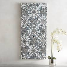 Blue Mosaic Tile Wall Decor
