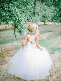 Rustic Wedding Ideas Cute Country Flower Girl Dress
