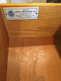 antique vintage john widdicomb 5 drawer chest dresser for sale