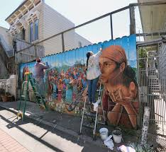 Balmy Street Murals Address by Where To Find Street Art In San Francisco The Occasional Traveller