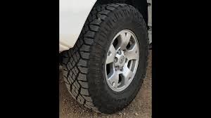 100 Goodyear Wrangler Truck Tires DuraTrac Tire Review YouTube