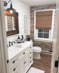 this rustic bathroom fall homedecor
