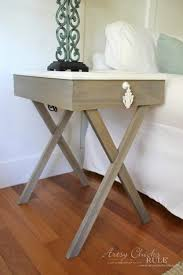 How To Build Wooden End Table by How To Build Criss Cross End Tables Tutorial Artsy Rule