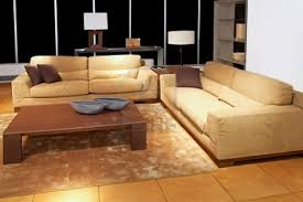 Brown Couch Living Room Ideas by Living Room Luxury Brown L Shaped Sofa In Leather Material With