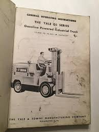 100 Vintage Truck Parts Yale Towne Manufacturing Co Instruction And Manual