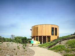 100 Beach House Architecture Austin Maynard Architects Creates Cylindrical Beach House In