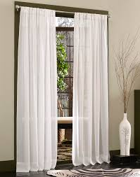 120 Inch Long Sheer Curtain Panels by Caress Voile Sheer Curtain Panel With Repreve Curtainworks Com