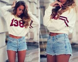 Sweater Tumblr Girl Shirt Clothes American Cute Summer Stripes White Burgundy Blouse