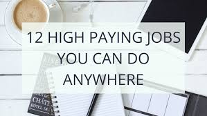 12 Highest Paying Work from Home Jobs