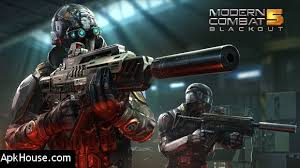 modern combat 5 esports fps v2 9 0k mod unlimited android