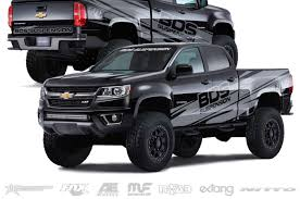 BDS Suspension 2015 Chevy Colorado SEMA Show Build