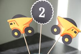 Construction Centerpieces, Dump Truck Centerpieces, Construction ... Dump Truck Party Theme Pictures Tips Ideas City Cowboy Hat Arnies Supply Plate As Well Bodies For 1 Ton Trucks Plus Sale In Cstruction Birthday Cupcake Toppers Amazoncom Wrappers Design Banner Truck Birthday Boys No Fuss Or Hassle An Easy Tonka Supplies Decorations Stay At Homeista Cake Janet Flickr A Cstructionthemed Half A Hundred Acre Wood
