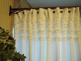 White Ruffle Curtains Target by 28 White Ruffle Curtains Target Ruffle Diamond Window