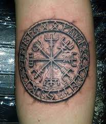 Cool Mens Viking Tattoo Forarm