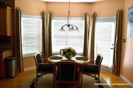 Kitchen Bay Window Treatments Small 8 Beautiful Dining Room Curtain Ideas
