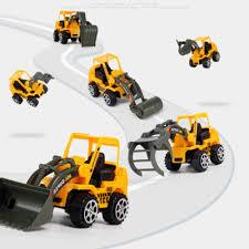 6Pcs Mini Truck Demolition Excavator Micro Car Series Educational ...
