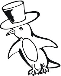 Printable Penguin Coloring Pages Me Sheets For Adults Penguins Animal