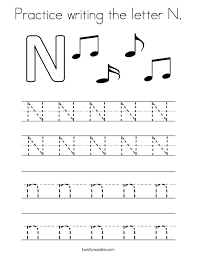 Word With Letter N Gallery Letter Examples Ideas