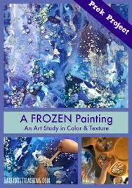 Let It Go Frozen Winter Art ProjectsWinter Crafts