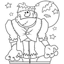 Ingenious Inspiration Ideas Childrens Halloween Coloring Pages We Will Strive To Give The Best Children In
