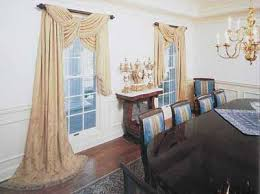 Images Dining Room Blinds And Curtains Shades With Valances